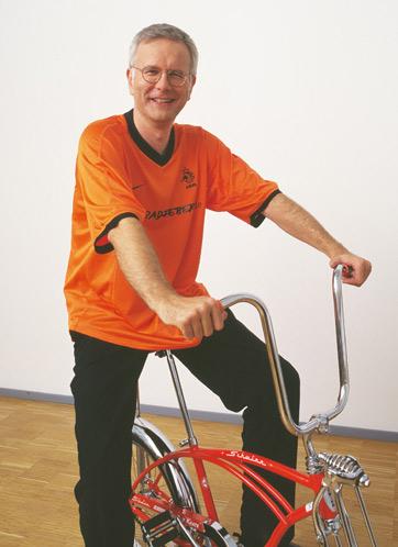 Harald Schmidt und Radfieber Fotosession