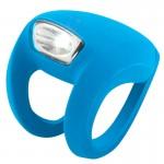 Die kleinste und leichteste aller Knog Lampen hat es faustdick hinter den Silikonlaschen!