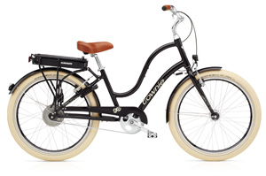 Electra E-Bike für Männer in tollem dunkelbraun