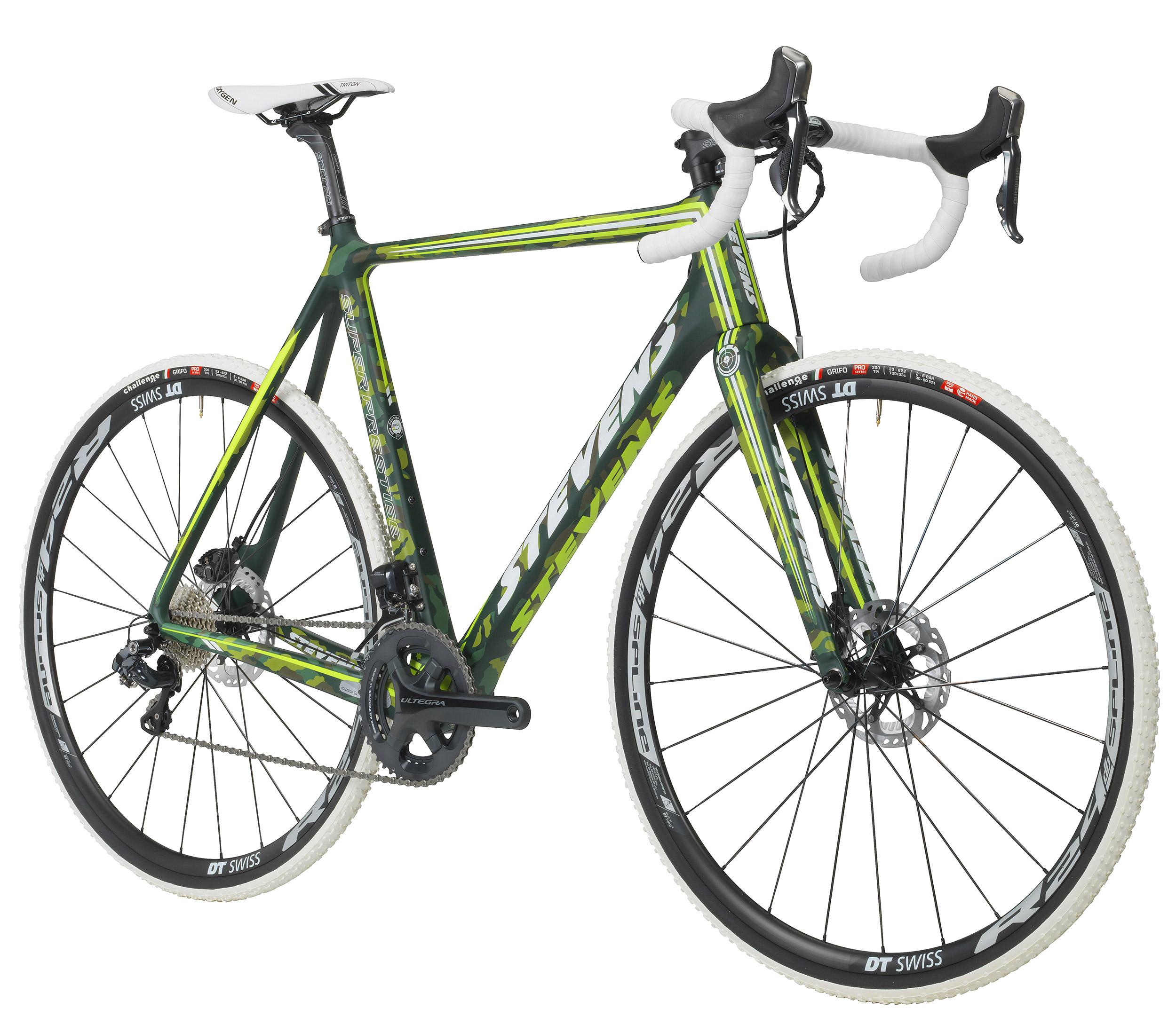 Stevens Top Cyclocross Bike in Camo